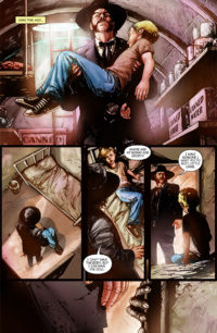 Asylum Issue 11 preview page 1
