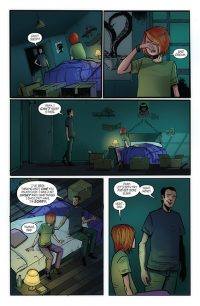 Monica Bleue Issue 2 page preview 1