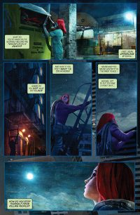 Redhead Issue 2 Page Preview 1
