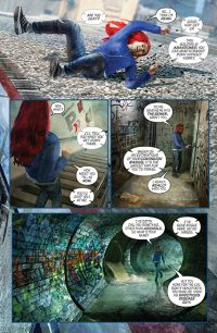 Redhead Issue 3 Page Preview 1